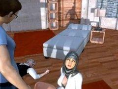 Muslim Hijab Teacher Anmie
