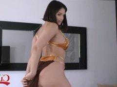 Big Ass Teen Violet Starr Makes A Man's Dreams Come True
