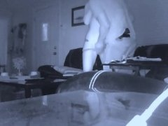 Cheating Ex caught on security camera!