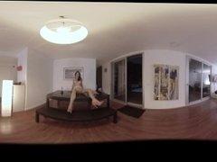 VR Porn Brunette's Sexy Lingerie  Virtual Porn 360
