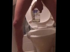 Slut loves piss