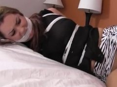 Belle Davis Kidnapped and Tied
