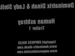 DOMINATRIX DINAH - HUMAN ASHTRAY