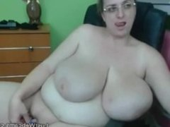 Beautiful Big Tits and Big Clit Masturbation. Very hot indeed.