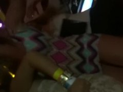 hidden cam stupid girl dancin in too short mini-dress upskirt panty shots !