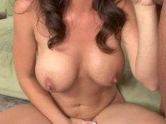 Cheating Wife With Huge TIts Gives Porn A Try