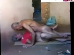 New Indian old couple