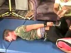 tickle torture young boy