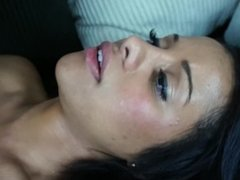 Teen With Huge Tits Gets Tricked Into Riding Huge Cock On Cam