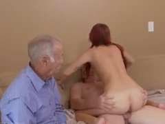Isabella's hd threesome outside big tits and guy cums in girl