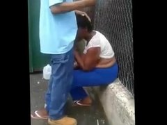 Crack Head Gets Blow Job Behind Dumpster With Hilarious Commentary