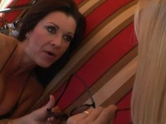 MILF Year Old Punishes Her Eighteen Year Old House Maid