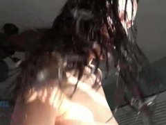 Karly Baker Cute Girl with Braces Gets Creampied