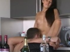 Amateur party orgy