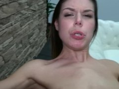 Cum swallowing babe love big strangers cock & enjoy every second of fuck