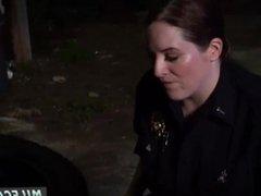 Haley-cop fucks prisoner and blonde milf tiny tits