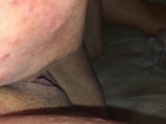 Getting my pussy licked and fingered