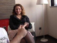 THRUST INSIDE Lulu Pretel: Interview Before Fucking