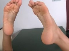 Incredible long legs and gorgeous feet - sucked and fucked by her husband
