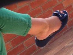 shoeplay 53 open toe flats