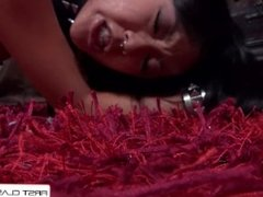Saya Song suck anf fuck a 9 inches cock and take a huge load in her face