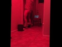 Red Light Special - ANTOINE.MARRIED HANDYMAN STOPS BY THROAT SERVICE