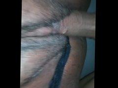 Pull dem panties to da side for dis dick!