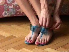 Hania's Long Toes - Sandals