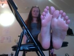 A Married Woman! Foot Fetish Fantasy #1