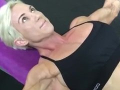 Lee ann training vascular pecs