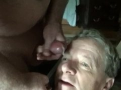 GAY CUM FACIAL COMPILATION VIDEO! 1 FACE TAKES 50 LOADS OF CUM!