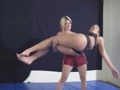 Mikayla Spanks a little girl's butt