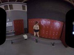 VR Porn Sneaking Into Girls Locker Room On BaDoinkVR