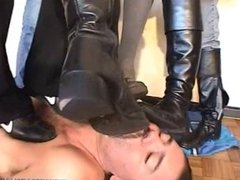 Multi boots trampling and worship