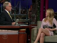 Jennifer Aniston - The Late Show with David Letterman (2008-12-17)