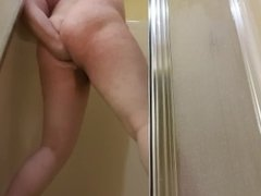 Fisting in a strange shower