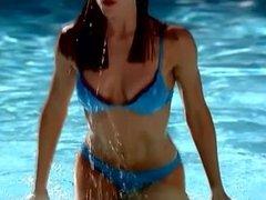 Jennifer Garner - Blue Bikini, Alias