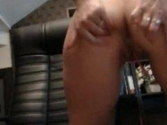 big boob blonde squirt at work