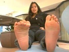 Tall Tomboy Latina Feet.