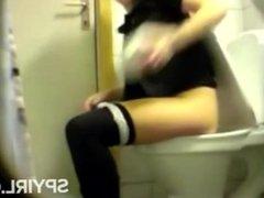 toilet pussy ass hidden spy cam voyeur
