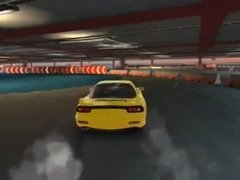 Keisuke Takahashi drifts thick, wide, and yellow FD3S