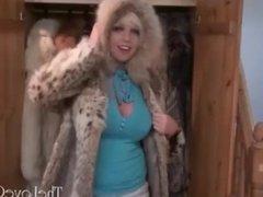 Scarlett Lovatt In Furs
