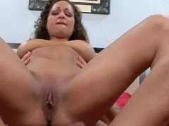 BUSTY ITALIAN MILF RIDES HUGE COCK AFTER CAR BREAKS DOWN