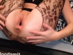 Exotic Lingerie Girl Fucked in Pussy and Getting Cumshot in Mouth