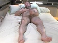 Beard daddy Masturbation