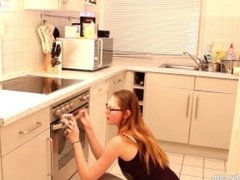 Mydirtyhobby - Hot doggy style in the kitchen