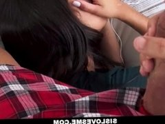 SisLovesMe - Teen Sisters Fight Over Step Brothers Cock