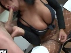 Hot shemale anal and cumshot