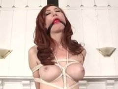 ball gagged girl