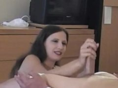 Awesome femdom post orgasm torture